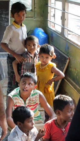Im Schulbus