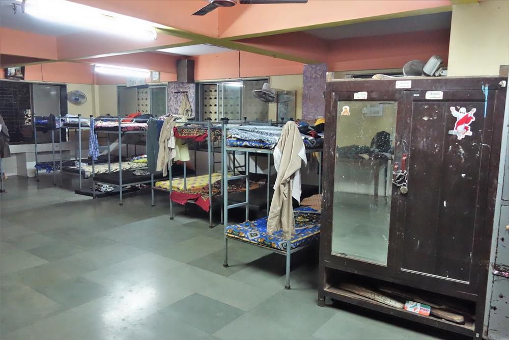Straßenkinder-Heim für Jungen: Schlafraum