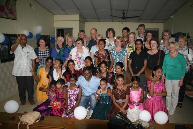 Straßenkinder-Heim für Mädchen: Besuchsgruppe