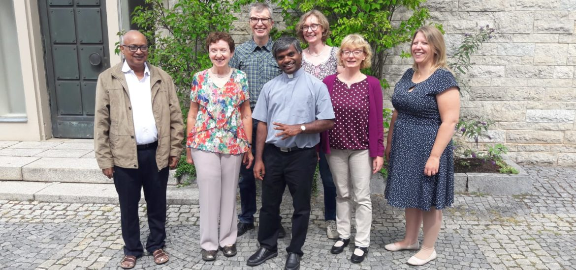 Pater Francis am 18. August 2019 in Kulmbach