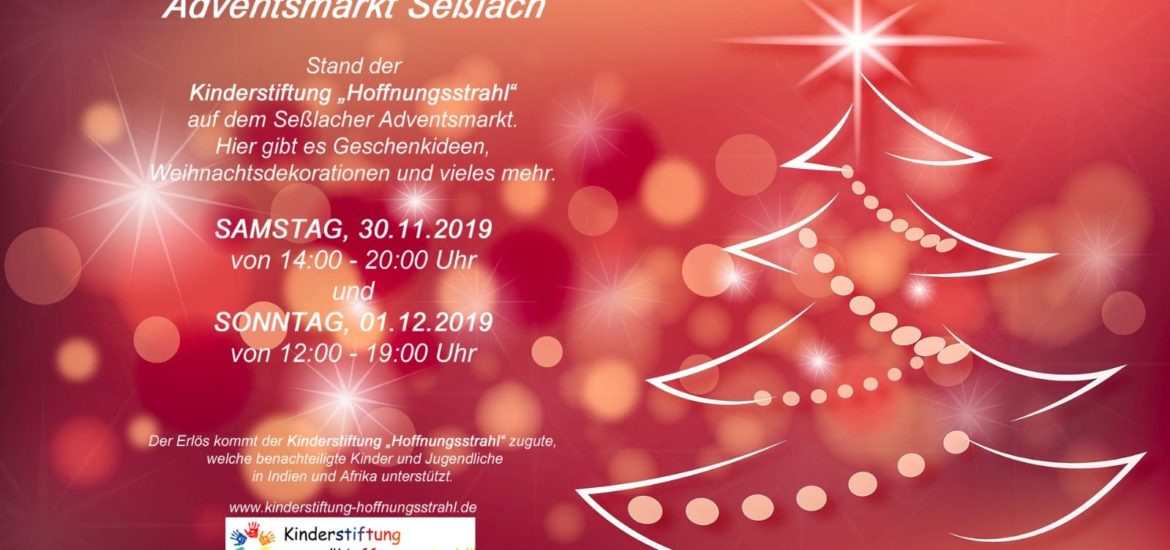 Adventsmarkt in Seßlach 2019