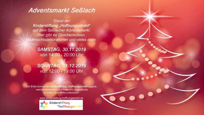 Adventsmarkt in Seßlach 2019