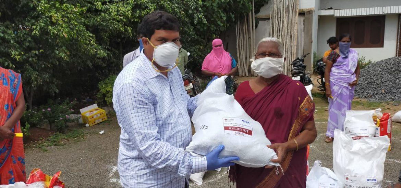 Corona-Hilfe für Indien