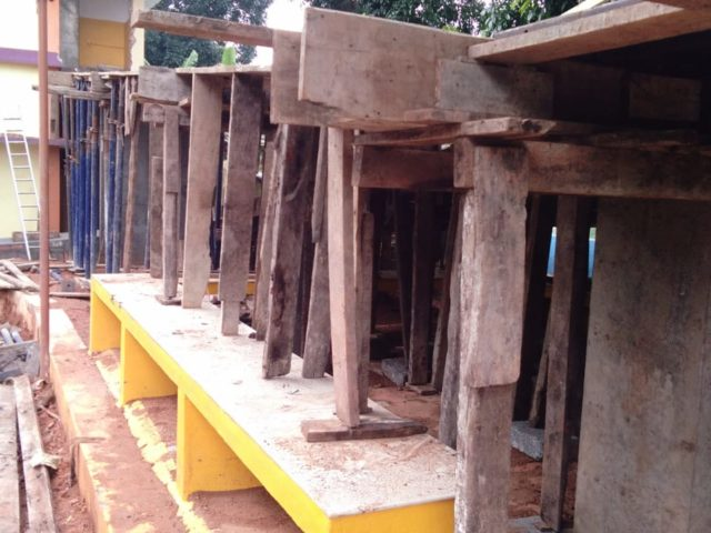 Alphons Sadhan Schule - Bau einer Rampe für den barrierefreien Zugang, gefördert durch die Stiftung