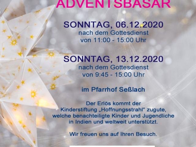 Adventsbasar Seßlach 2020