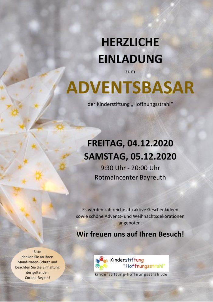 Adventsbasar Rotmain-Center 2020