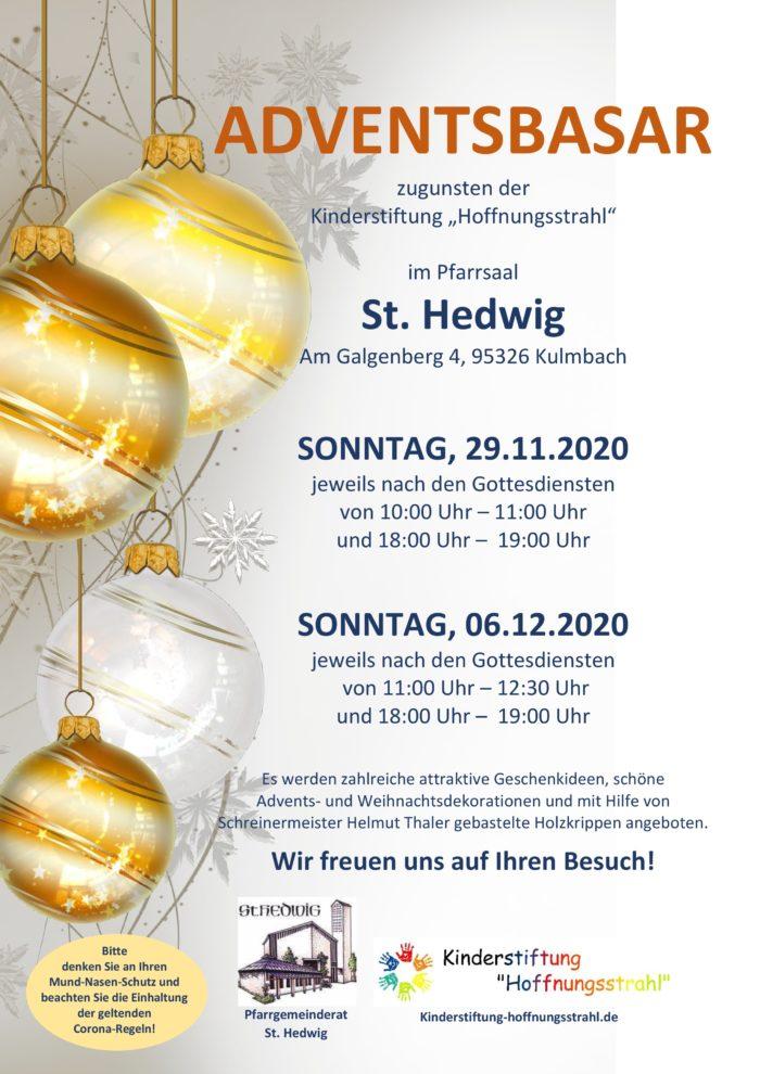 Adventsbasare II St. Hedwig Kulmbach 2020