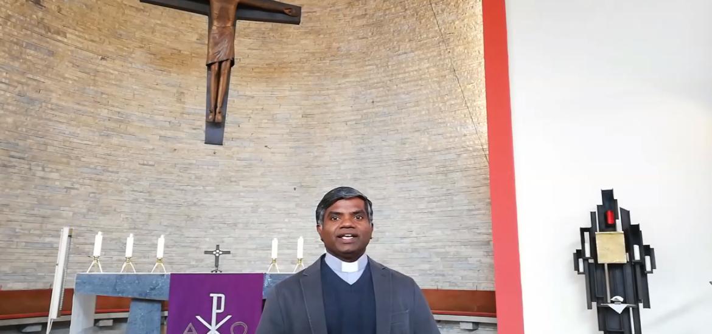 Abschiedsgruß Pater Thomas